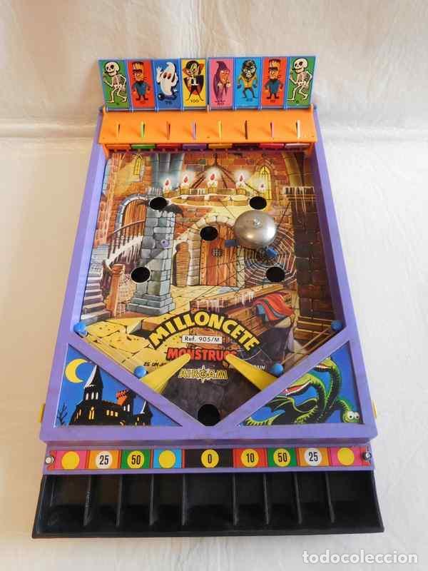 Juguetes antiguos: M69 Milloncete Montruos del Castillo de Airgam. Ref 905/M. Años 70. Una joya. Monstruos airgam. - Foto 4 - 109351295