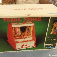 Juguetes antiguos: ANTIGUO JUEGO TRAGA FICHAS DE JUGUETES GRACIA AÑOS 70 A ESTRENAR. Lote 109544783