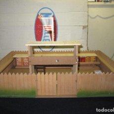 Juguetes antiguos: FORT APACHE DE JUGUETES MIRALLES. Lote 110060203