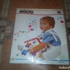 Juguetes antiguos: JUEGO DE MOLTO AÑOS 70. Lote 110638423