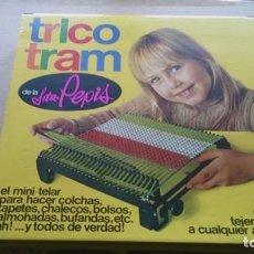 Juguetes antiguos: TRICO TRAM DE LA SEÑORITA PEPIS MINI TELAR. Lote 111330579