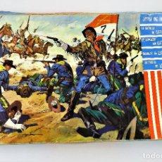 Juguetes antiguos: LA BATALLA DE LITTLE BIG HORN GBM. Lote 138114426