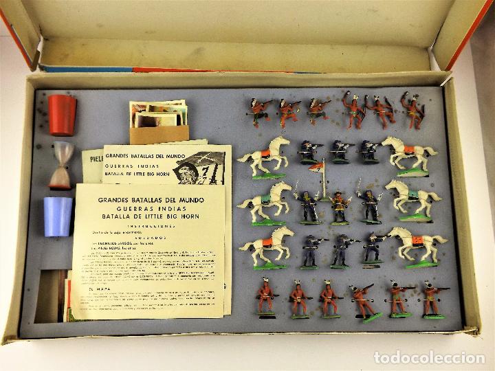 Juguetes antiguos: La Batalla de Little Big Horn GBM - Foto 2 - 138114426