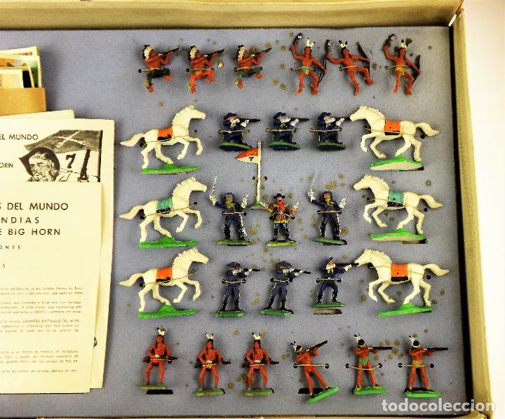 Juguetes antiguos: La Batalla de Little Big Horn GBM - Foto 3 - 138114426