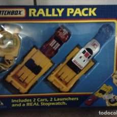 Juguetes antiguos: RALLY PACK MATCHBOX. Lote 111808695