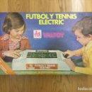 Juguetes antiguos: VALTOY FUTBOL Y TENNIS ELECTRIC. Lote 112263596