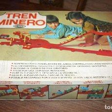 Juguetes antiguos: ANTIGUO TREN MINERO DE GEYPER - EN SU CAJA ORIGINAL - BUEN ESTADO. Lote 113010103