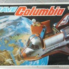 Juguetes antiguos: NAVE COLUMBIA NASA DE EGE CON CAJA AÑOS 70 FUNCIONA.. Lote 113026079