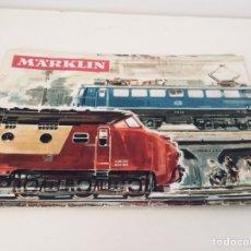 Juguetes antiguos: MARKLIN 1965/66 CATÁLOGO. Lote 114277735