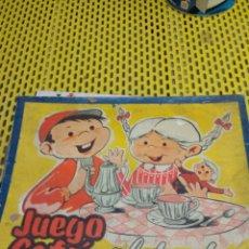 Juguetes antiguos: ANTIGUO JUEGO DE CAFE PLATEADO. Lote 114804803