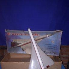 Juguetes antiguos: AVIÓN CONCORDE DE JOUSTRA. Lote 114820868