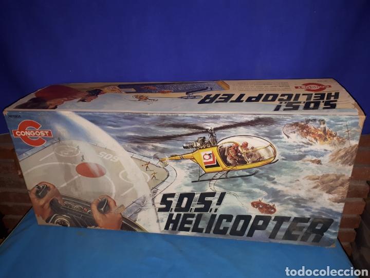 Juguetes antiguos: HELICOPTERO CONGOST - Foto 9 - 114823791