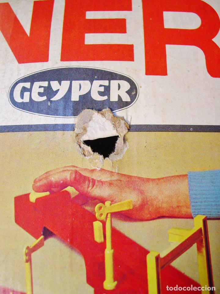 Juguetes antiguos: TREN MINERO GEYPER. AÑOS 70. FUNCIONANDO. CAJA ORIGINAL - Foto 8 - 114979359