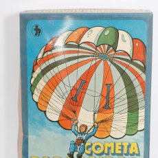 Juguetes antiguos: COMETA PARACAIDAS. NUEVA. Lote 115032571