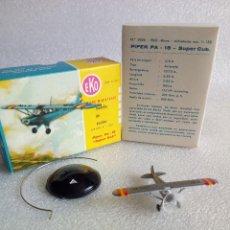 Juguetes antiguos: EKO, AVION PIPER PA-18 CON CAJA . Lote 115073591