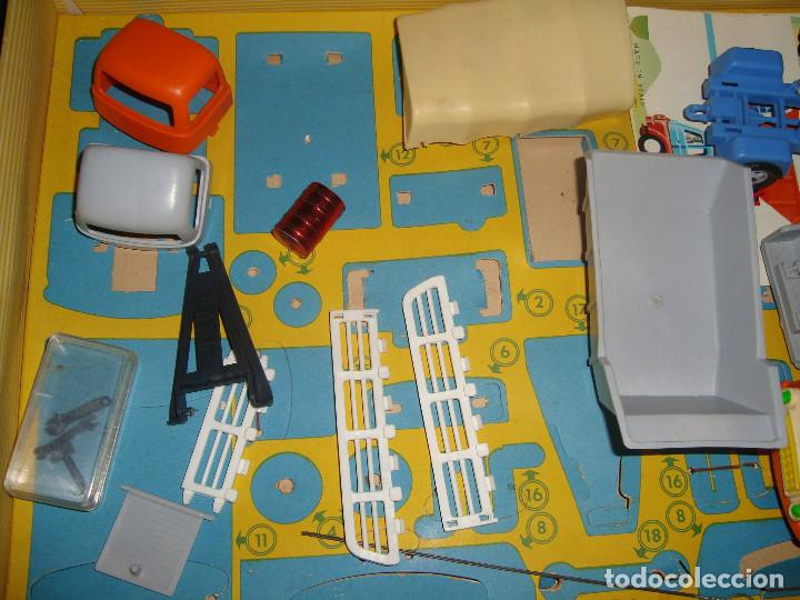Juguetes antiguos: ANTIGUA CAJA CAMIONES GEYPER 502 - Foto 3 - 147280398
