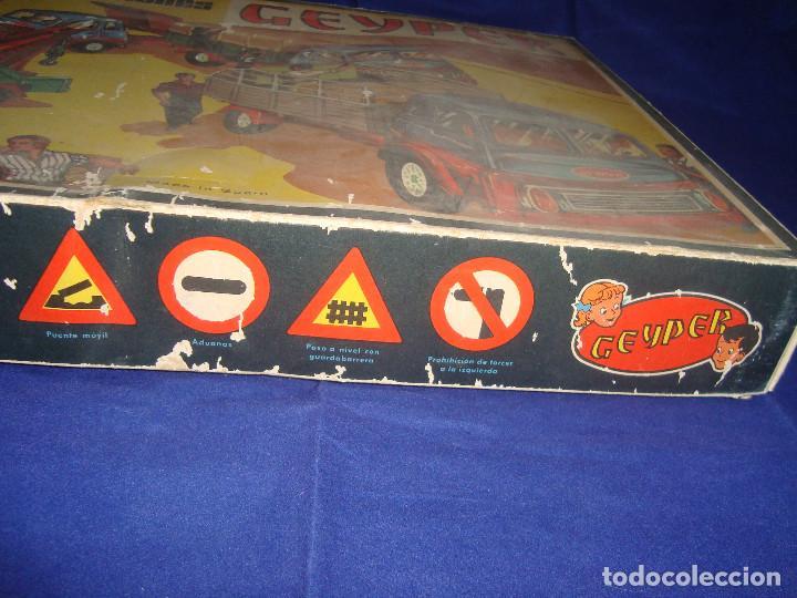 Juguetes antiguos: ANTIGUA CAJA CAMIONES GEYPER 502 - Foto 5 - 147280398