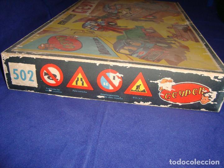 Juguetes antiguos: ANTIGUA CAJA CAMIONES GEYPER 502 - Foto 6 - 147280398