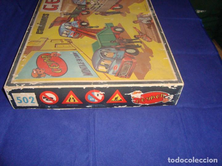 Juguetes antiguos: ANTIGUA CAJA CAMIONES GEYPER 502 - Foto 7 - 147280398