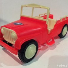 Juguetes antiguos: ANTIGUO JEEP WILLYS DE SHAMBERS, PERFECTO ESTADO Y COMPLETO - FLA. Lote 117393615