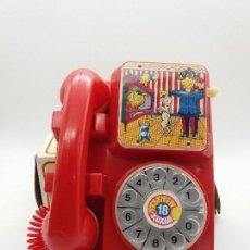 Juguetes antiguos: TELÉFONO ANIMADO KUXAN REFERENCIA 18. Lote 117896199