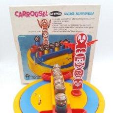 Juguetes antiguos: CARROUSEL DE INDIOS DE GEYPER AÑOS 70. Lote 118475963