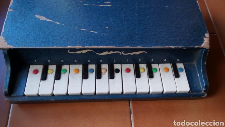 Juguetes antiguos: PIANOLA MADERA. PIANO. REIG ? - Foto 2 - 118650056