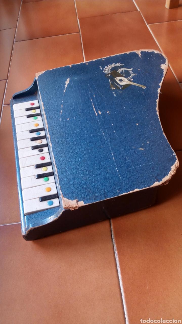 Juguetes antiguos: PIANOLA MADERA. PIANO. REIG ? - Foto 3 - 118650056