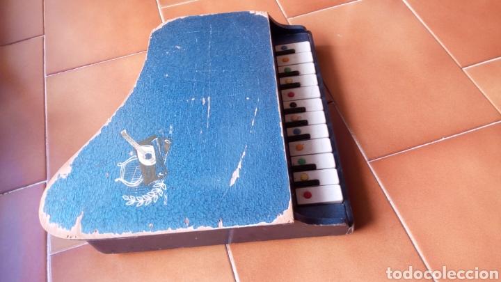 Juguetes antiguos: PIANOLA MADERA. PIANO. REIG ? - Foto 5 - 118650056