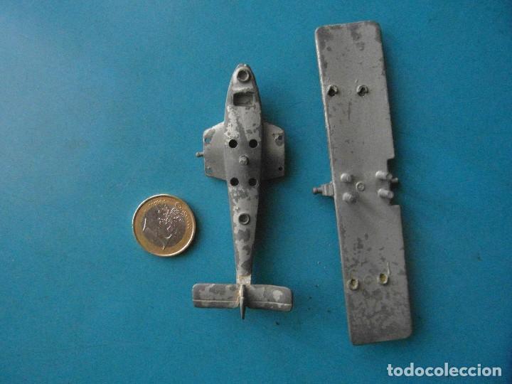 Juguetes antiguos: Avion de metal. Desmontable - Foto 2 - 118716703