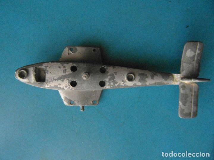 Juguetes antiguos: Avion de metal. Desmontable - Foto 3 - 118716703