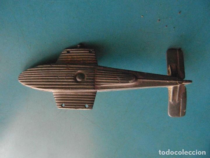 Juguetes antiguos: Avion de metal. Desmontable - Foto 4 - 118716703