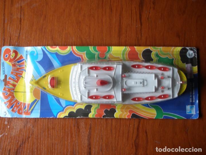 Plástico Barco Transatlántico Shambers Burjasol Valencia Juguete nP0wOX8k