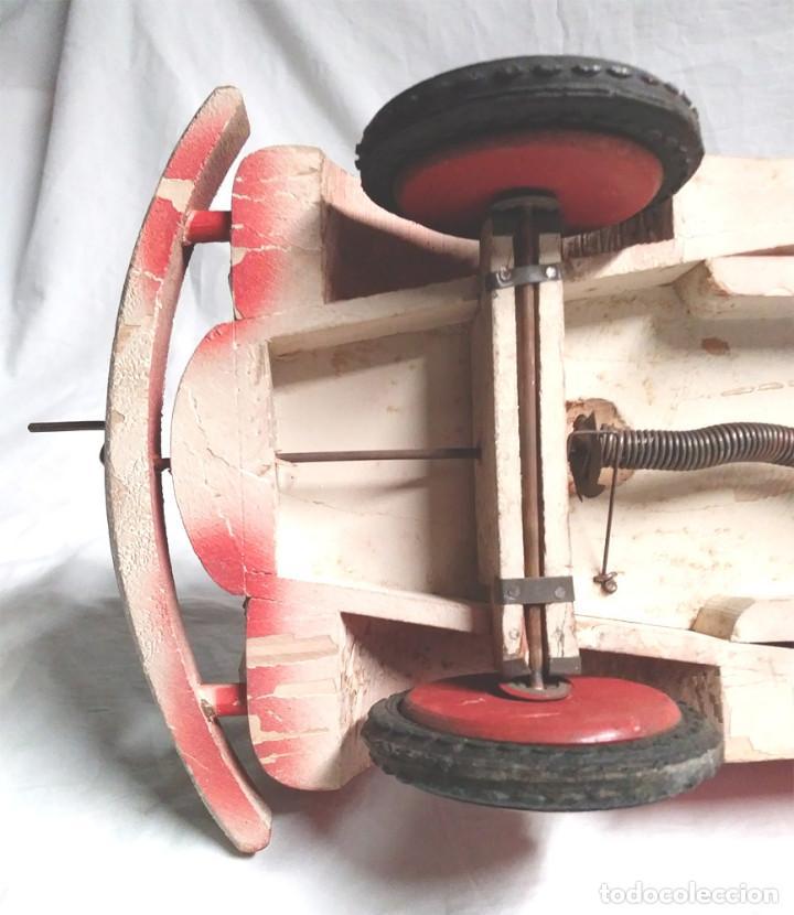Juguetes antiguos: Camión Campsa Denia años 50 de Juan Forner Font de cuerda, Madera, Cisterna hojalata, completo. - Foto 11 - 118966235