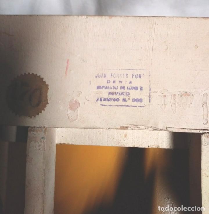 Juguetes antiguos: Camión Campsa Denia años 50 de Juan Forner Font de cuerda, Madera, Cisterna hojalata, completo. - Foto 13 - 118966235