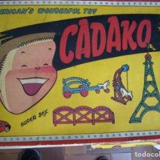 Juguetes antiguos: CADAKO JUGUETE DE LOS AÑOS 50 DE GEYPER CON DOS PISOS ESTA BASTANTE BIEN. Lote 119614355
