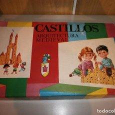 Juguetes antiguos: JUGUETES MEDITERRANEO CASTILLOS ARQUITECTURA MEDIEVAL Nº7 EN MADERA. Lote 143726464