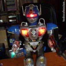 Juguetes antiguos: ROBOT LEADER SON AI TOYS FUNCIONANDO EN CAJA COMO NUEVO. Lote 120746815