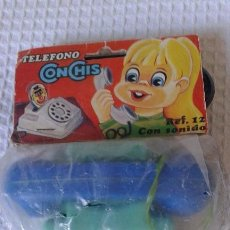 Juguetes antiguos: TELEFONO CONCHIS REF 12 DE QUIOSCO, DIBUJO DE POPEYE, EN BLISTER SIN USO AÑOS 70.JUYCO, JOAL.. PVC. Lote 120833807