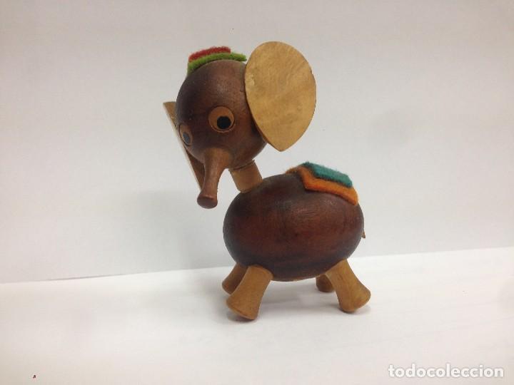 Elefante Madera Por Fabricada En Goula Figura 3lJTuKc5F1