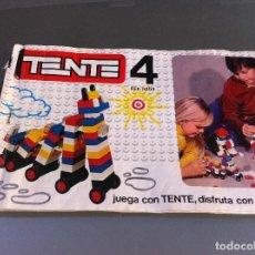 Juguetes antiguos: JUEGO (TENTE 4) MEDIDAS CAJA: 53 X 24CM. REF. 0404. TIENE INSTRUCCIONES.. Lote 121504115