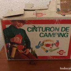 Juguetes antiguos: CINTURON DE CAMPING CONGOST. Lote 122626451