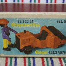 Juguetes antiguos: CHIQUICERILLAS GUISVAL CHIQUI-CONSTRUCTOR DE CHIQUIVAL. Lote 123749659