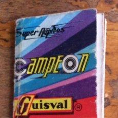 Juguetes antiguos: GUISVAL, CATALOGO 1973. Lote 124186487