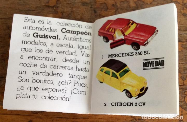 Juguetes antiguos: GUISVAL, CATALOGÓ AÑO 77 - Foto 4 - 124187711