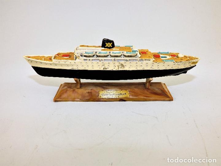 Juguetes antiguos: Anguplas Mini Ships Cabo San Vicente - Foto 2 - 124398143