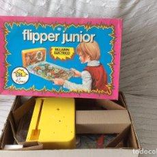 Juguetes antiguos: FLIPPERJUNIOR ,ELÉCTRICO DE RIMA. Lote 124569911