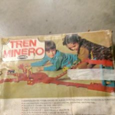 Juguetes antiguos: TREN MINERO GEYPER. Lote 125936639