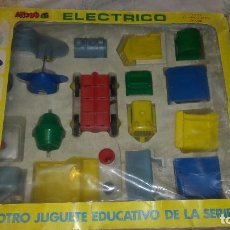 Juguetes antiguos: MOVI 6 ELECTRICO DE PAYVA, JUGUETE ANTIGUO, JUEGO DE CONSTRUCCION. Lote 126287207