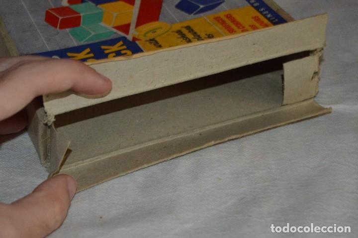 Juguetes antiguos: NOS - WOODEN CART & BRICKS - TRI ANG TEACHEM TOYS LINES BROS LTD - 1950s - VINTAGE JOYA - ENVÍO 24H - Foto 14 - 126720487